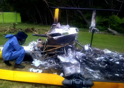Post-crash fires do seem to be a problem with certain R44 models.