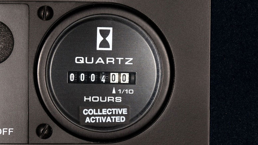 Collective-activated hour meter