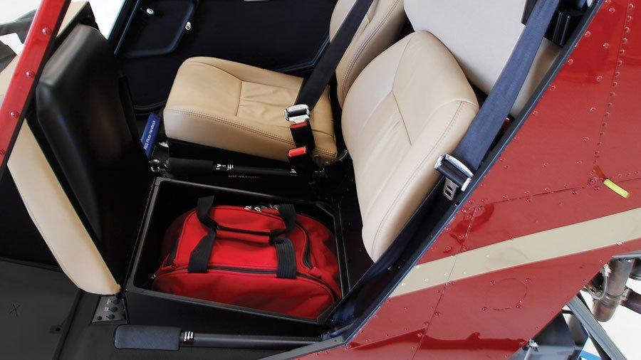 Under-seat storage