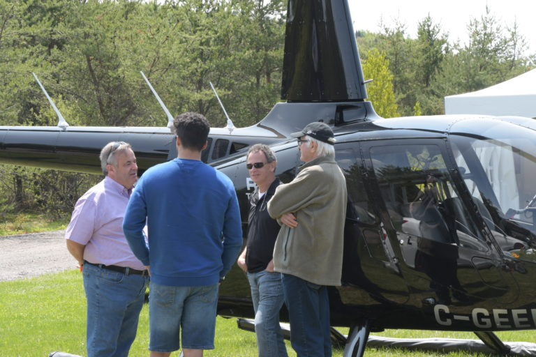 robinson company notices heliclub event