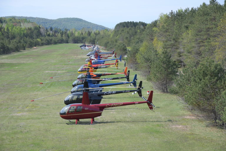 HeliClub fly-in highlights flight safety