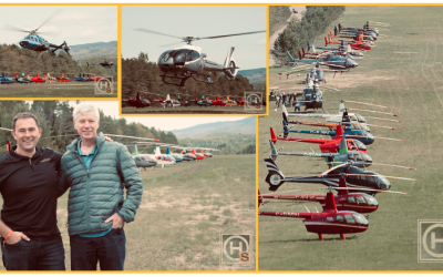 Private helicopter owners gather at the The HeliClub Week-End!