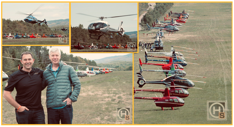 The HeliClub Week-End, an ever-growing success!